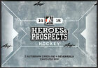 2014-15 Leaf ITG Heroes and Prospects Hockey Factory Sealed Hobby Box