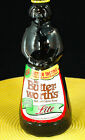 Vintage Amber Mrs. Butterworth Syrup Bottle with Cap & Label