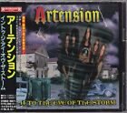 ARTENSION - INTO THE EYE OF THE STORM 10tracks, 1996 JAPAN CD W/OBI RRCY-1028
