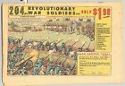 TWO VINTAGE COMIC BOOK ADS FROM OCTOBER 1967 REVOLUTIONARY WAR & TANK TRAP