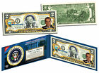 RICHARD NIXON * 37th U.S. President * Colorized $2 Bill US Genuine Legal Tender