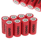 8x CR123A 123A CR123 16340 2400Mah 3.7V Li-ion Rechargeable Reuse Battery BTY US