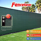 Green 4 5 6 8 tall Fence Windscreen Privacy Screen Shade Cover Mesh Outdoor