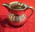 Vintage Antique Wm. A. Rogers Quadruple Plate Cream Pitcher 1854