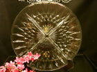 Jeanette Glass Co. Divided Relish Candy Vintage Antique Dish Windsor Diamond