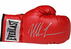 MIKE TYSON Hand Signed (Silver) Everlast Boxing Glove STEINER