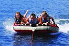 AIRHEAD AHGF 3 G Force Inflatable Towable Water Toy Fun Boating Floating Fun
