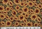 1 BOLT 45 HARVEST BLESSING SUNFLOWER FABRIC 15 YARDS