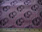 Civil War Reproduction Fabric BTY Chocolate Circle on Salmon Windham 1870 Cotton