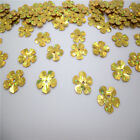 NEW DIY13mm shiny flowers loose sequins Paillettes sewing Wedding decor ZX06