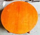 Vintage Mid Century Solid Maple Coffee Table 30