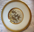 LAL Brand CHOKIN PLATE TWO SPARROWS ?  LEAF DESIGN 6
