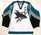 OWEN NOLAN SAN JOSE SHARKS REEBOK AUTHENTIC GAME JERSEY SIZE 46 NEW WITH TAGS