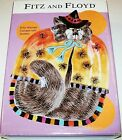 NIB FITZ & FLOYD HALLOWEEN KITTY WITCHES W/ SPIDERS CANAPE PLATE NEW IN BOX