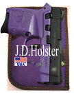 PURPLE DOUBLE SIDED LEFT RIGHT HAND POCKET HOLSTER for NAA GUARDIAN 380 32