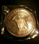 Nolan  Ryan 1993- Most strikeouts / no hitters -  1 ounce .999 Silver  Coin!