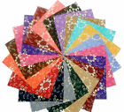 75 4 inch Quilting Fabric Squares/Antique Reproduction