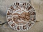 Alfred Meakin England 1979 God Bless This House Zodiac Calendar Plate 9