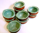 10 Hand Painted Restaurant Diner Heavy Ceramic China Soup Bowls Chili Pots- NEW