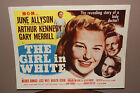 THE GIRL IN WHITE 11 X 14 INCH 1952 LOBBY CARD SET JUNE ALLYSON ARTHUR KENNEDY