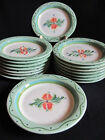 Gail Pittman Provence green butter plate garland hand painted Southern Living