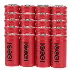 20x CR123A 123A CR123 16340 2400Mah 3.7V Li-ion Rechargeable Reuse Battery BTY