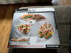 Appetizers On Ice Revolving Tray Durable Clear Acrylic Server Brand New In Box