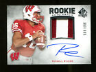 Russell Wilson 2012 SP Authentic Rookie Patch Auto 300 885 Badgers Mint 22890
