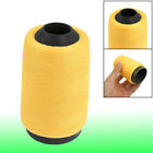 Yellow Cotton Sewing Quilting Stitching Thread Spool Reel