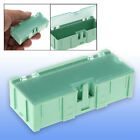 Green Plastic Components Storage Enclosure Case Box