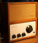 KLH Model EIGHT FM Tube Receiver w/ Matching Speaker.Original Box/Manuals
