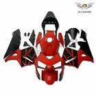 Complete Red Black Fairing Kit Plastic for Honda CBR600RR 2003 2004 F5 aG3