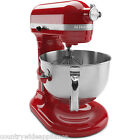 KitchenAid 6qt PRO 600 Series Stand Mixer w/Pouring Shield Empire Red KP26M1XER