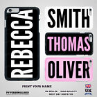Personalised Custom Printed YOUR NAME CASE Hard Cover for iPhone Samsung HTC