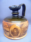 ROYAL DOULTON, ( JOHN DEWAR & SONS LTD. ) SCOTCH WHISKEY, STONEWARE, FLASK, JUG