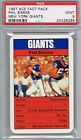 PHIL SIMMS 1987 Ace Fact Pack New York Giants PSA 9 MINT Pop 1 No 10s
