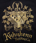 Kuhnhenn Brewing Co. Warren Mi. Men's Black Long Sleeve Tee Shirt Size Small