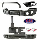 Jeep Wrangler JK Winch Front Overrider Bumper & Rear with Tire Carrier Spartacus