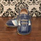 Navy Blue w Stripes Toddler Boy Sneaker Squeaky Shoes Size 3 4 5 6 7 8 9