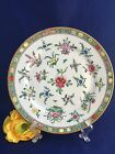 Japanese Porcelain PCT Hand Decorated Green Floral Decorative Collector Plate