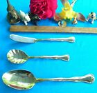 SIMPLICITY SET / 3 pieces sugar spoon butter knife table serving spoon stainleSS