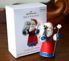Hallmark A VISIT FROM SANTA – 3rd in the Series Ornament 2011 - NEW!