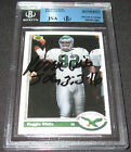 1991 Upper Deck Reggie White Signed Card JSA Auto BGS Eagles Packers