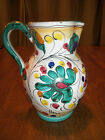 ITALIAN POTTERY VINTAGE  PITCHER NUMBERED
