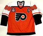 ERIC LINDROS PHILADELPHIA FLYERS 1997 STANLEY CUP NIKE AUTHENTIC JERSEY SIZE 52