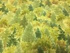 1 Yard Whitetail Ridge LT Green Forest From Quilting Treasures