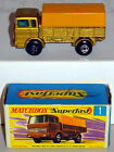DTE LESNEY MATCHBOX TRANSITIONAL SUPERFAST 1-A YELLOW CANOPY MERCEDES TRUCK NIOB