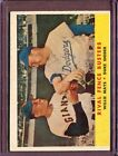 1958 Topps 436 Rival Fence Busters Willie Mays Duke Snider VG-EX #D147569