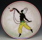 ART DECO NORITAKE HAND PAINTED CABINET PLATE