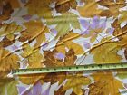 Martha Negley for Rowan cotton fabric Autumn Medley Maples MN46 Gold BTY
